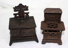 Childs Metal Cast Iron Stove and Oven