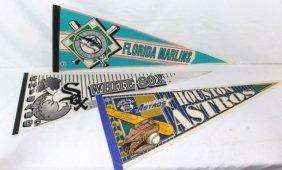3 Pennants - Florida Marlins, White Sox, Houston Astros