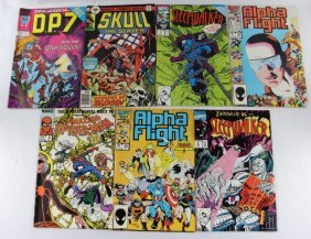 Lot of 7 Marvel Comics Various ones