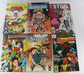 Lot of DC Comics as pictured