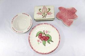Stangle Dish, Shenango China, Blue Ridge & Pocket Leaf