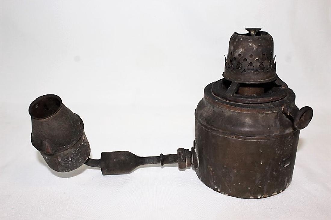 Antique Gas Lamp Fixture