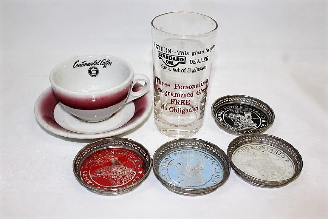 Standard Oil, Continental Coffee & Sandy Pond RR Pieces