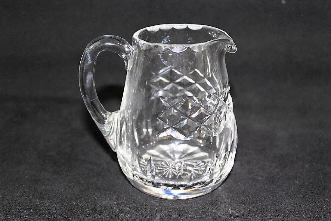 Brunswick Star Cruets, glass creamer and small Glass - 5