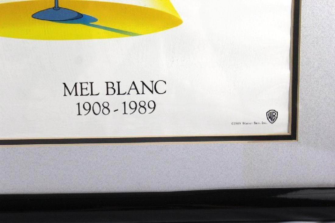 Framed Speechless Mel Blac Poster - 2
