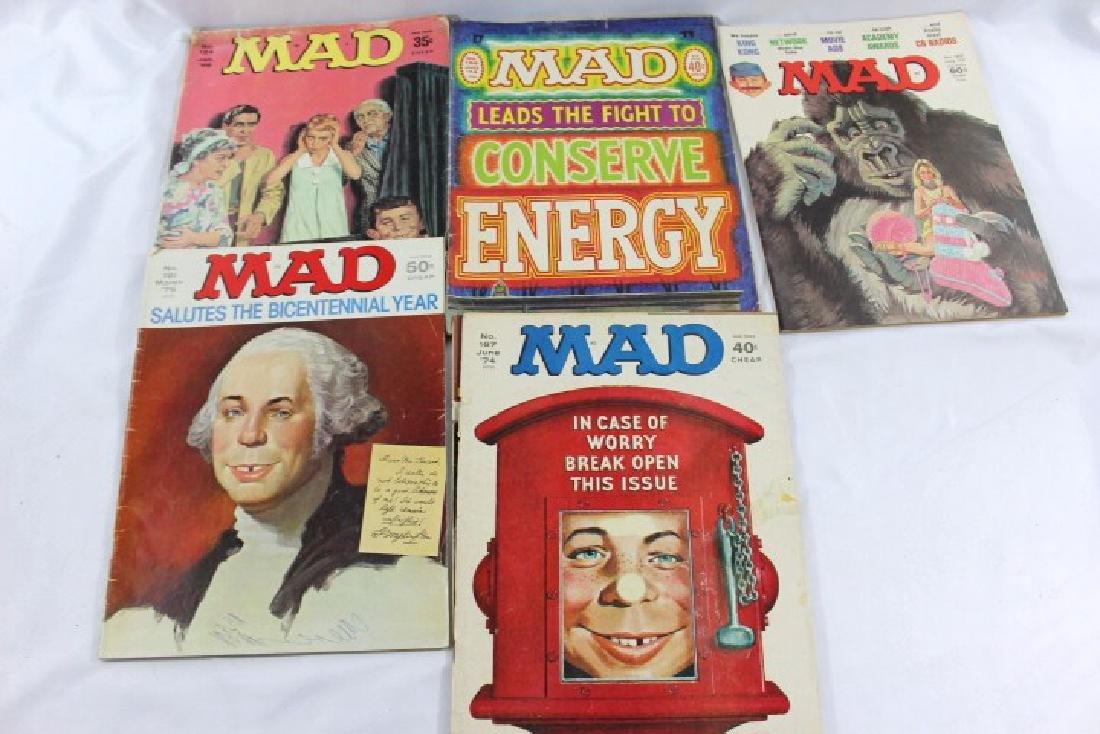 Lot of 5 Vintage Mad Magazines