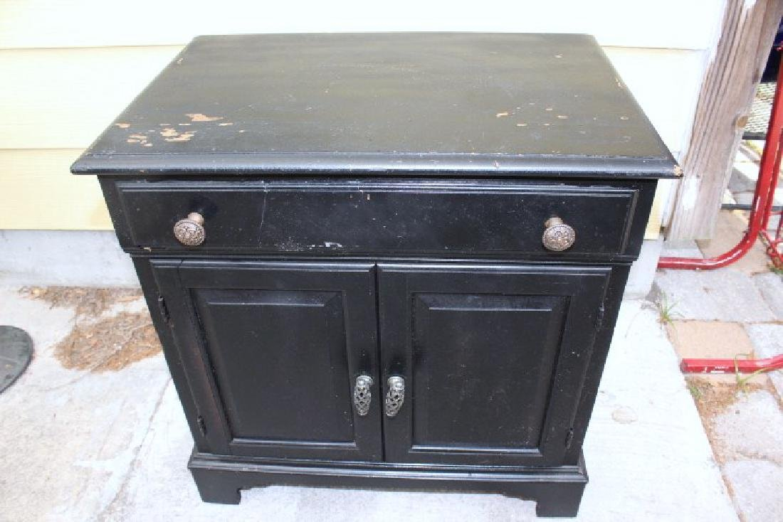 Small Black Night stand