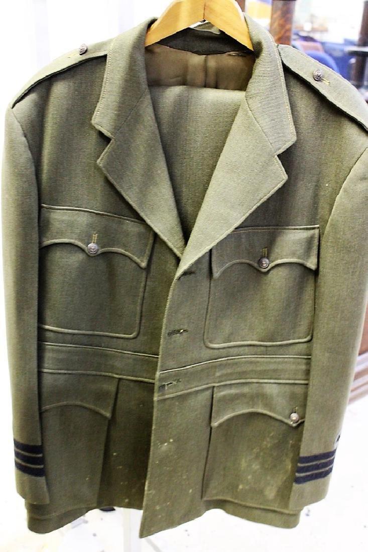 Green Vintage Military Uniform - Novakoff Bros Uniform