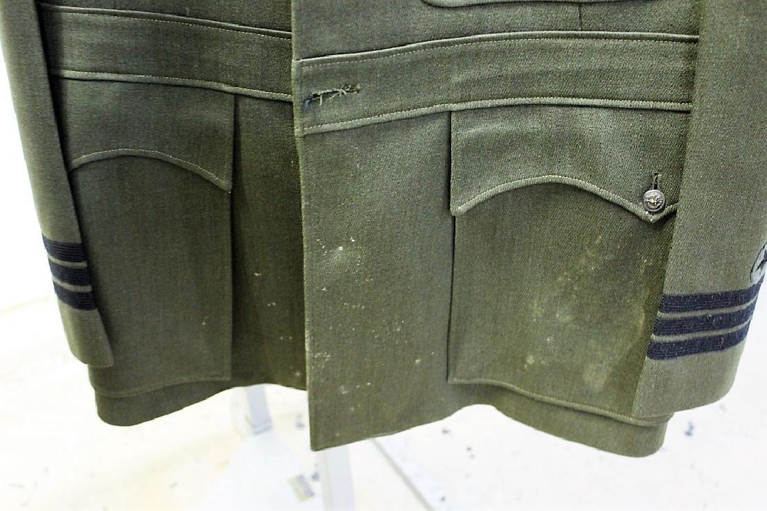 Green Vintage Military Uniform - Novakoff Bros Uniform - 2