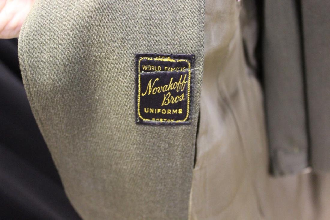 Green Vintage Military Uniform - Novakoff Bros Uniform - 3