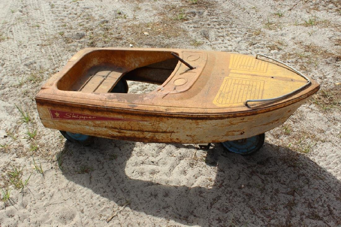 Vintage Murray Skipper Pedal Car/Boat
