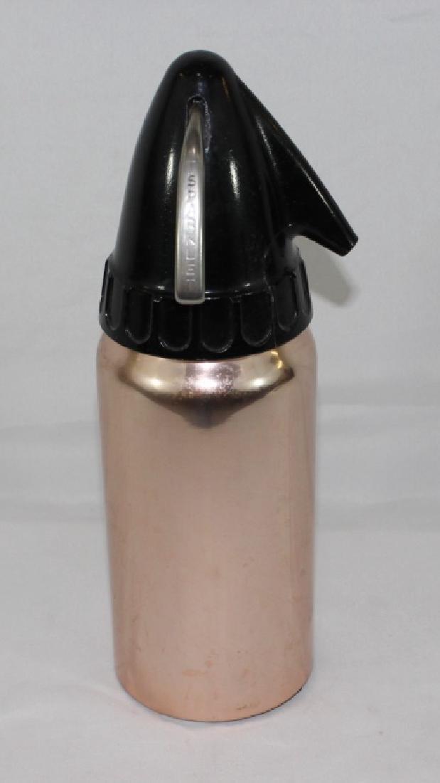 Vintage Sparklet Chrome & Ceramic Seltzer Bottle