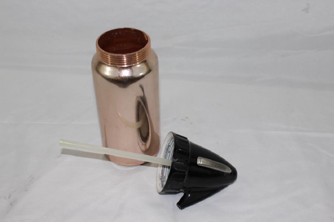 Vintage Sparklet Chrome & Ceramic Seltzer Bottle - 2