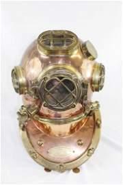 WW2 Replica Mark V Copper & Brass Helmet