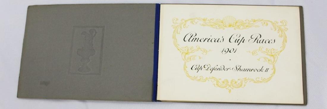 Rare - 1901 America's Cup Invitation John Roebling