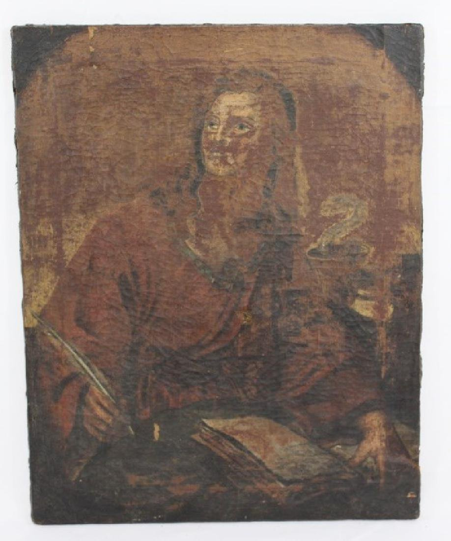 Very Old Oil on Canvas Painting unsigned