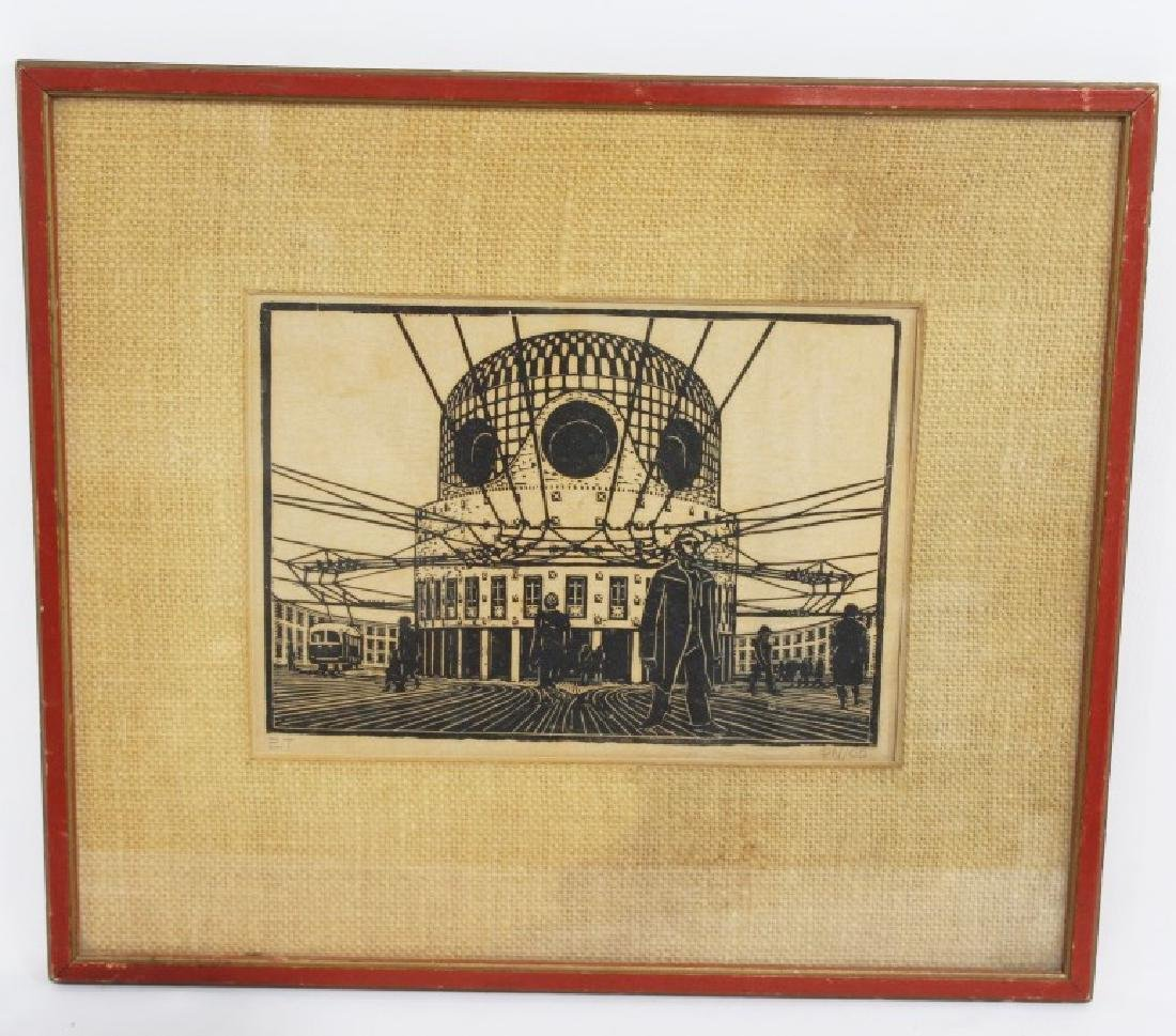 Signed & Dated Streetcar Print ET PN/55