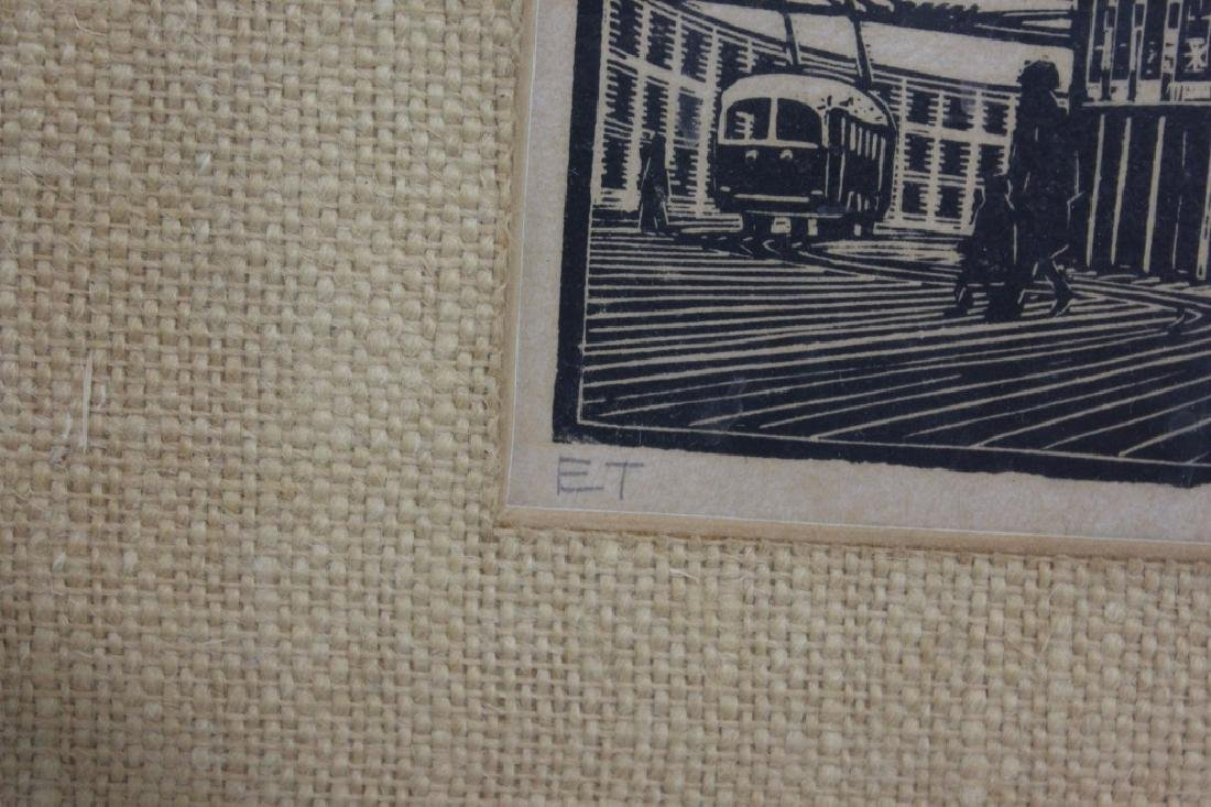 Signed & Dated Streetcar Print ET PN/55 - 2