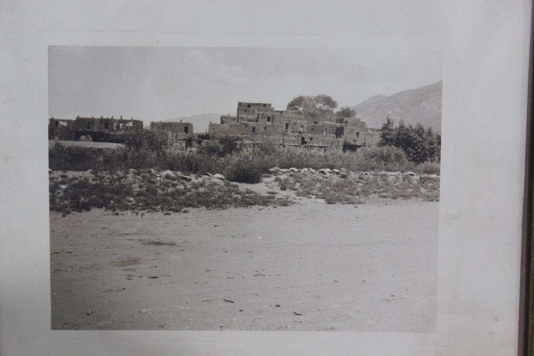 Early Photograph of Taos Pueblo N. Mexico - 2