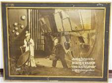 "Rare 1924 Buster Keaton ""The Navigator"" movie poster"