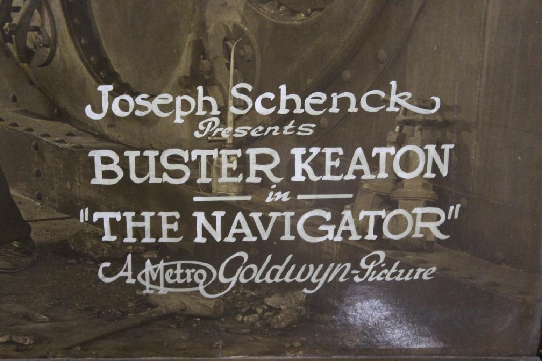 "Rare 1924 Buster Keaton ""The Navigator"" movie poster - 2"
