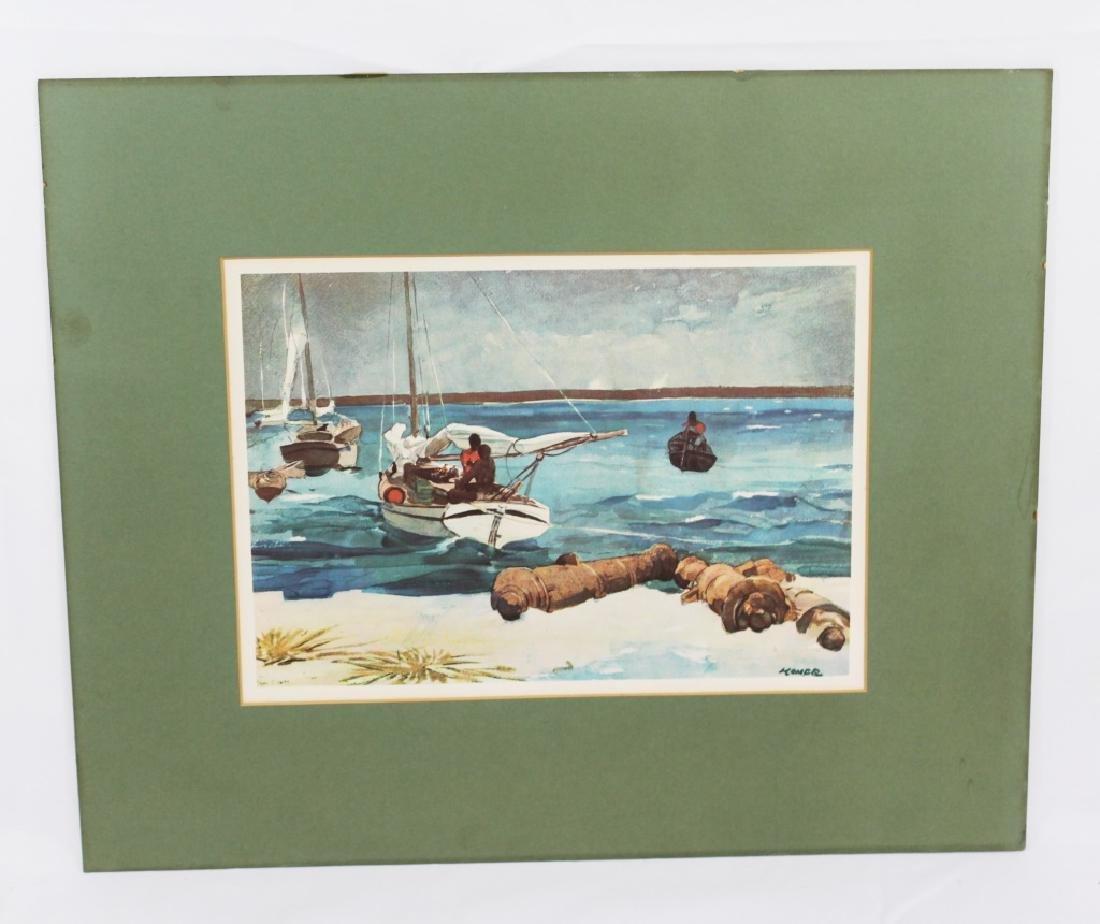 Winslow Homer Print - with Mat