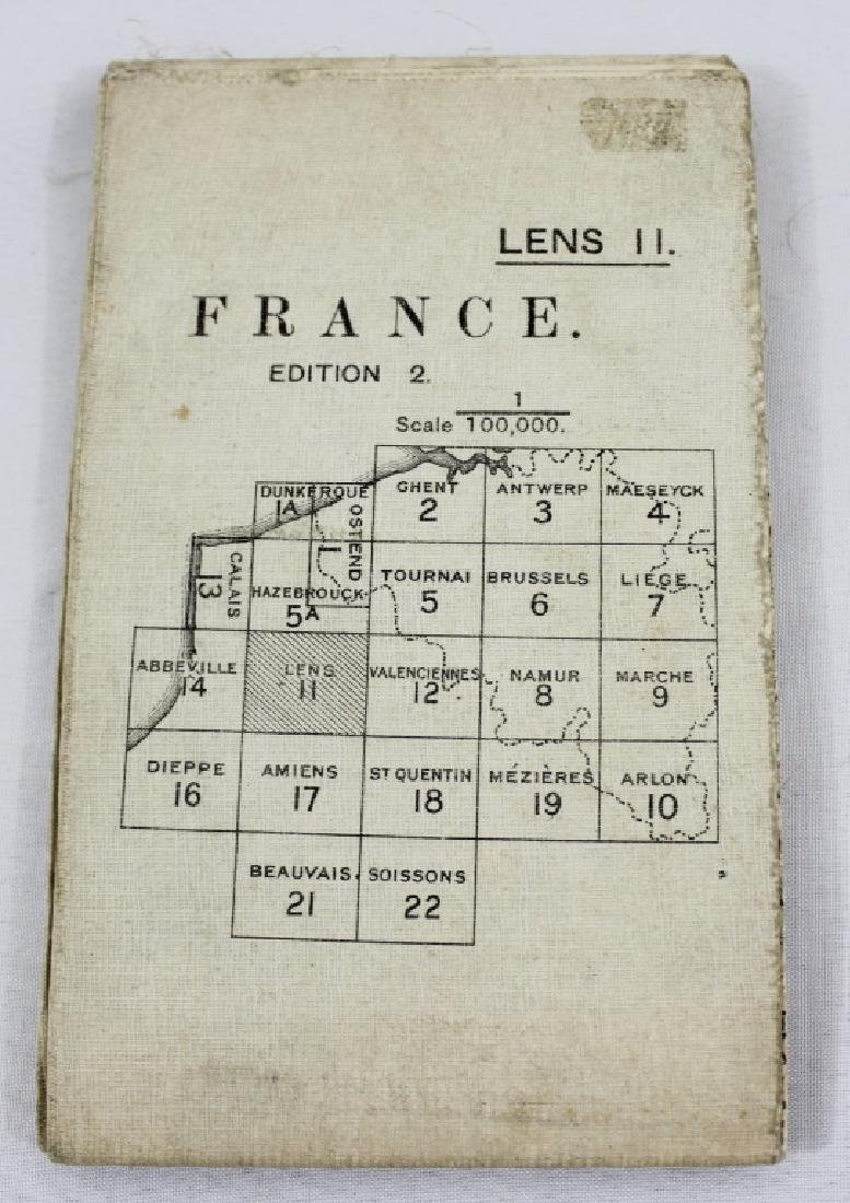 WW1 - France Trench Map