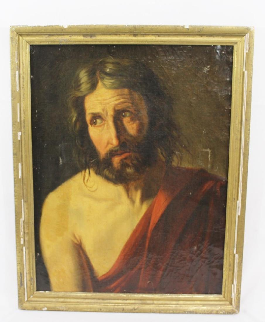 Antique Oil Painting of Jesus - Old Master?