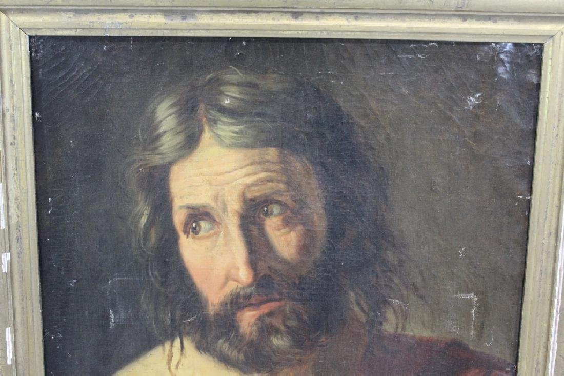 Antique Oil Painting of Jesus - Old Master? - 3