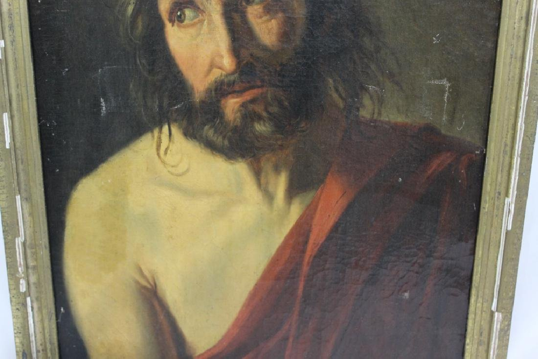 Antique Oil Painting of Jesus - Old Master? - 4