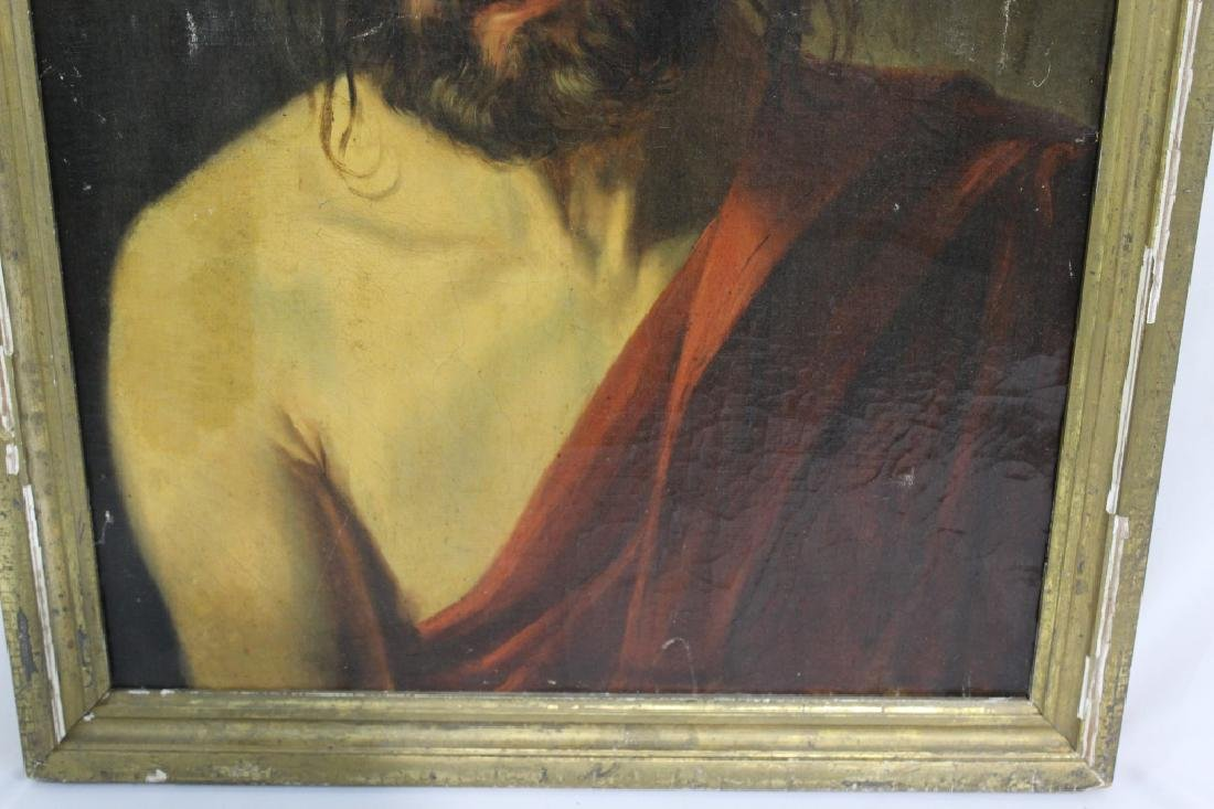 Antique Oil Painting of Jesus - Old Master? - 5