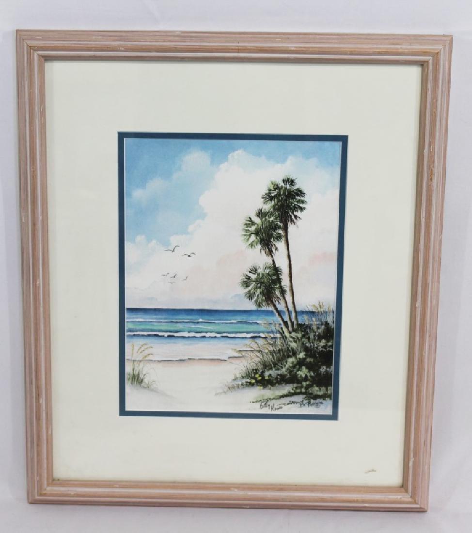 Betty Rowe - Countersigned Print - Florida Artist