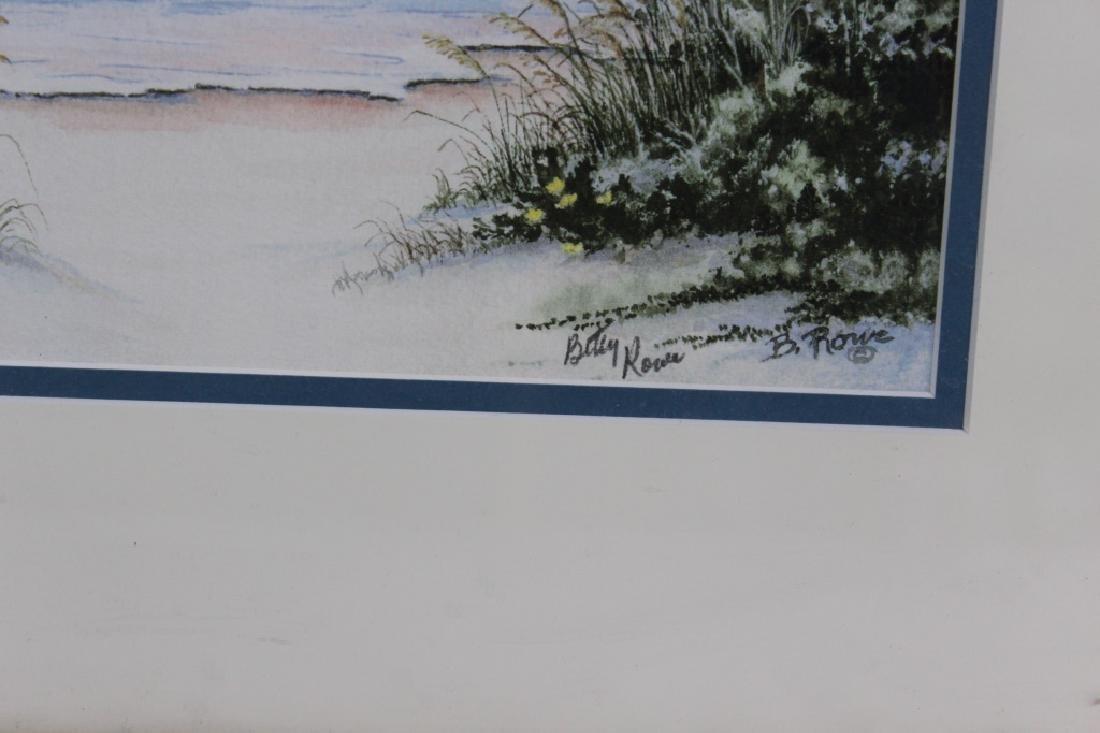 Betty Rowe - Countersigned Print - Florida Artist - 2