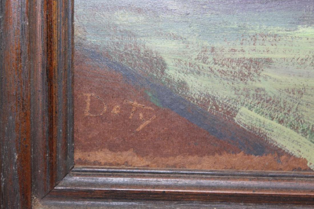 Doty Signed - Oil on Masonite - St. Augustine Night - 3