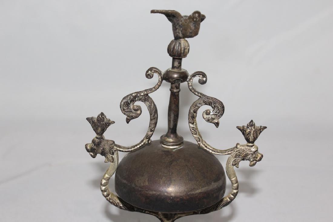 Antique hotel desk Bell Twist with Bird - 2