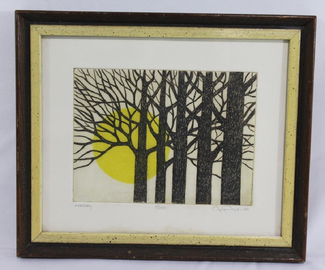 Joy Jerviss - Colored Etching - Limited Edition