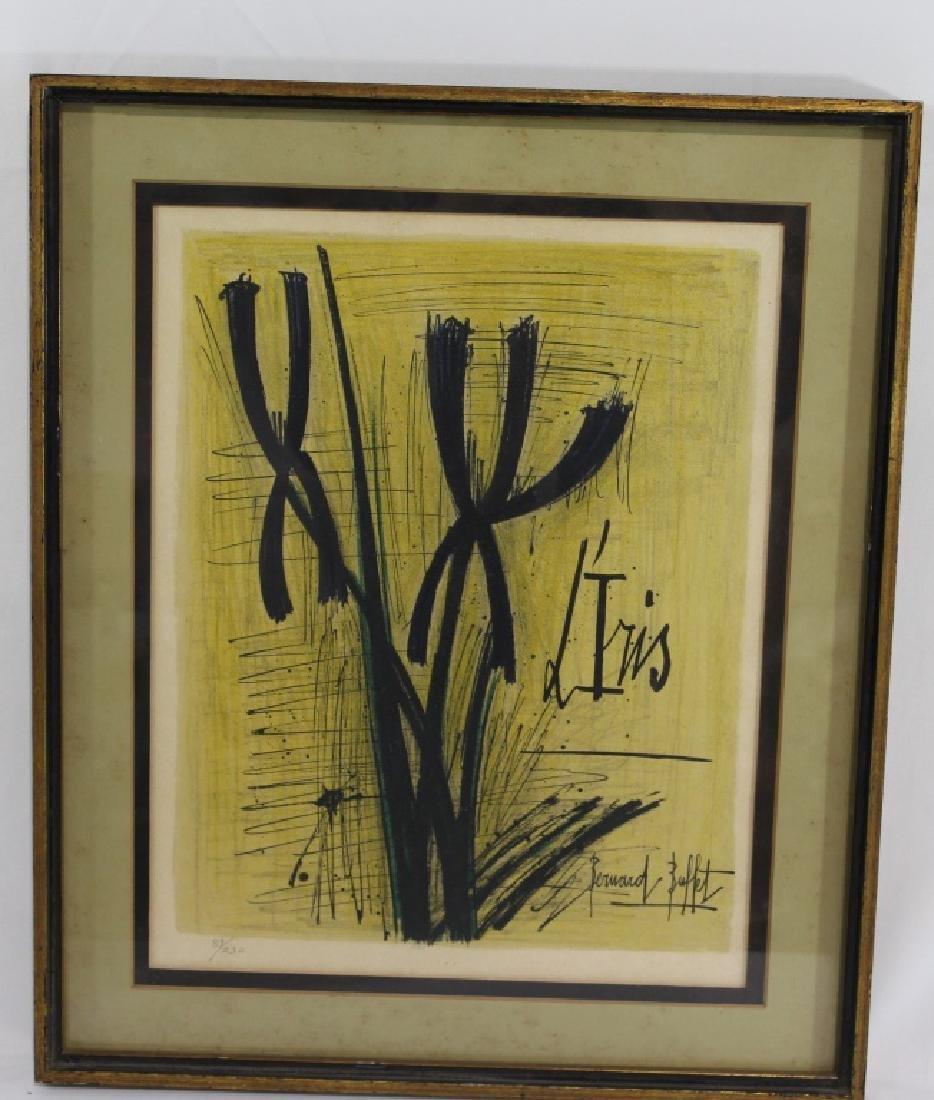 Bernard Buffet (1928-1999) - Lithograph - L'Iris
