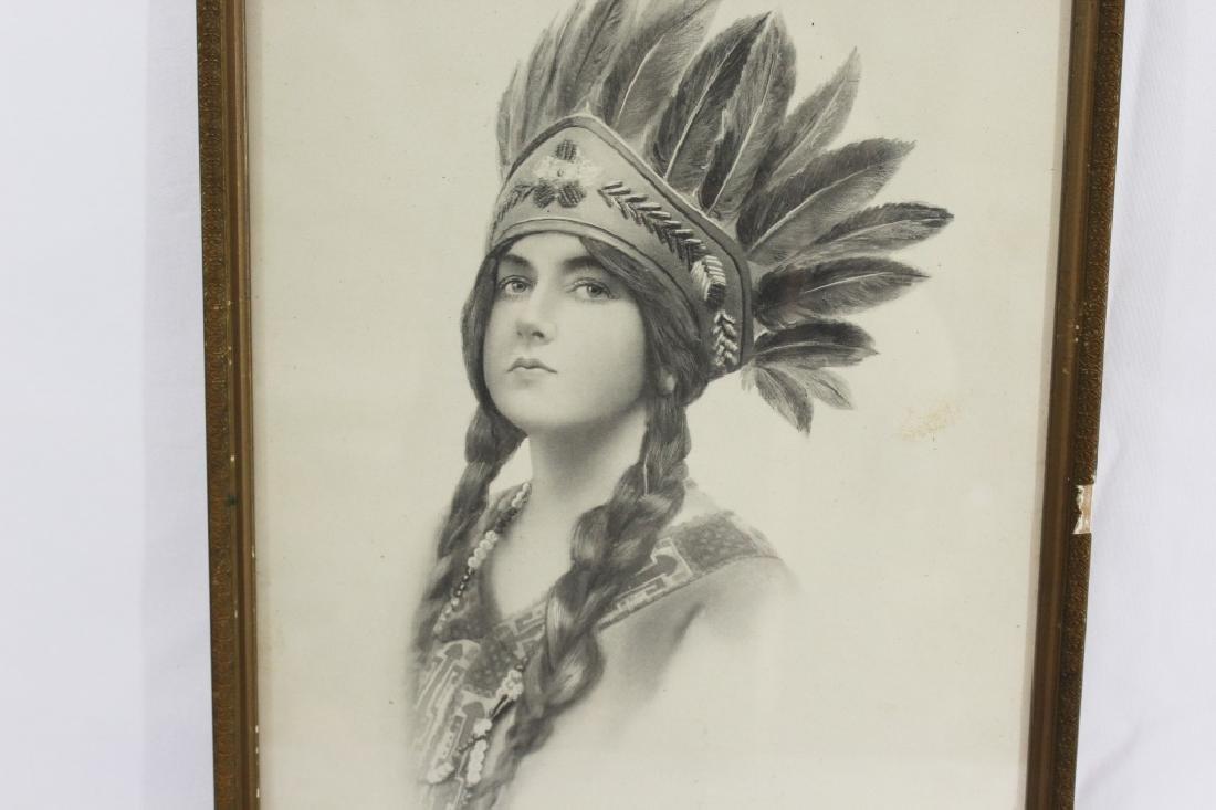 Indian Maiden Series c.1912 - Schlesinger  Bros. - 2