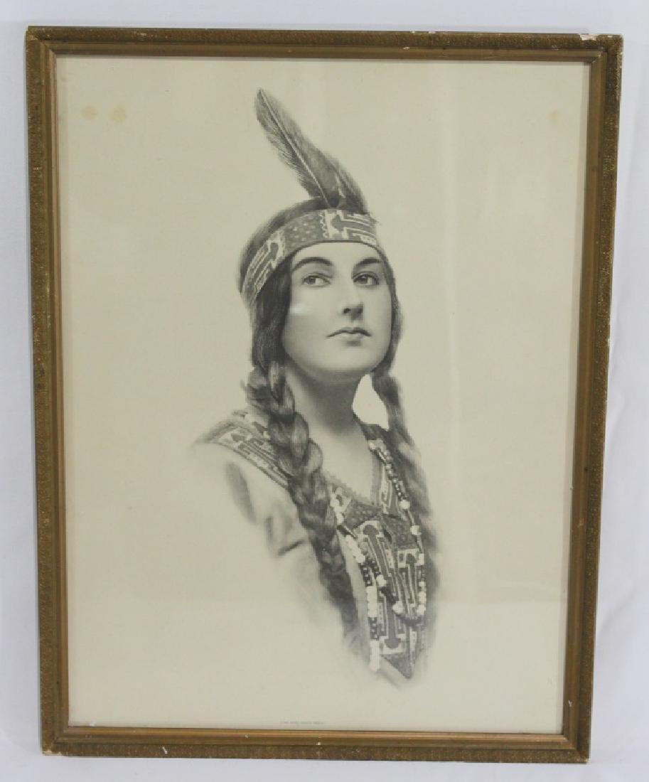 Indian Maiden Series c.1912 - Schlesinger  Bros.