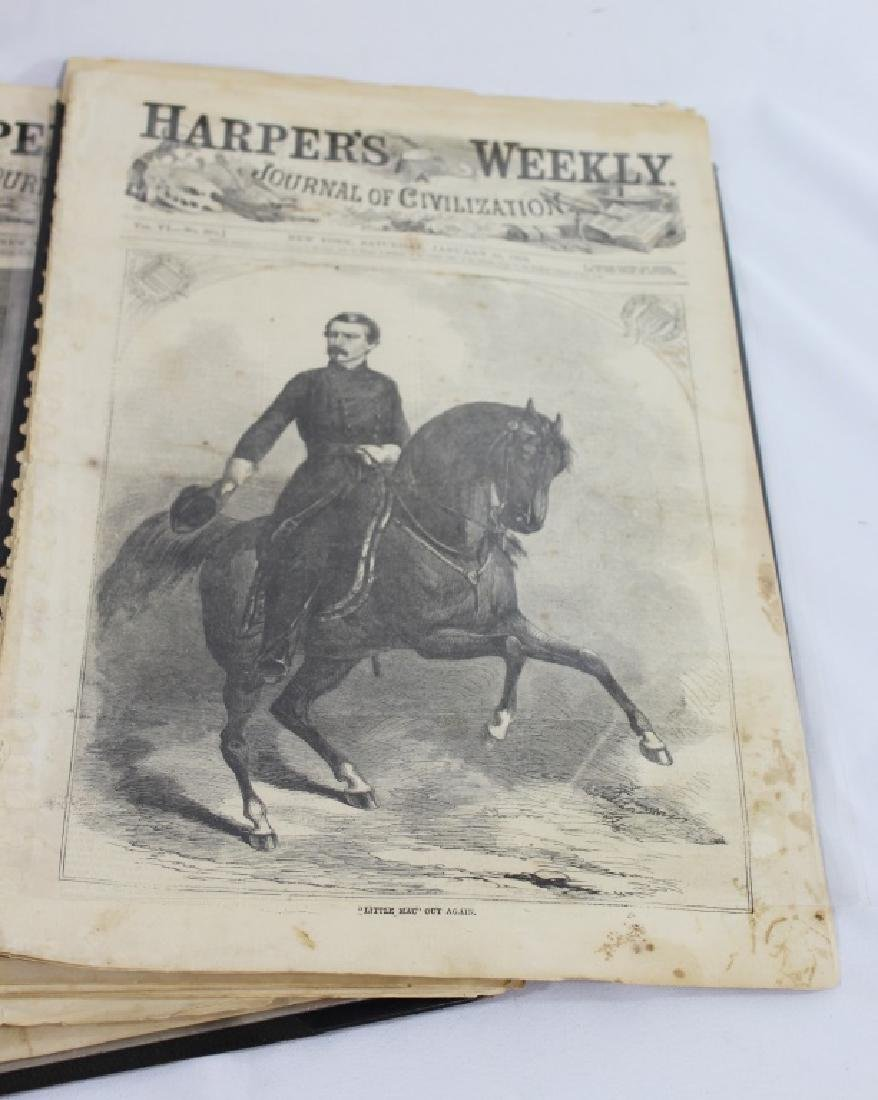 Lot of 21 Harpers Weekly - Journal of Civilization - 2