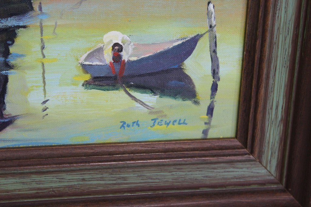 Ruth Jewell (1908-1999)  Oil on Board Original Painting - 2