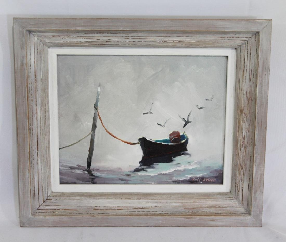 Ruth Jewell (1908-1999)  Oil on Board Original Painting