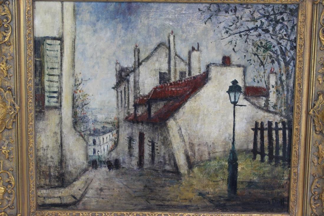 Louis Dali (1905-2001) - Paris Street Scene - 2
