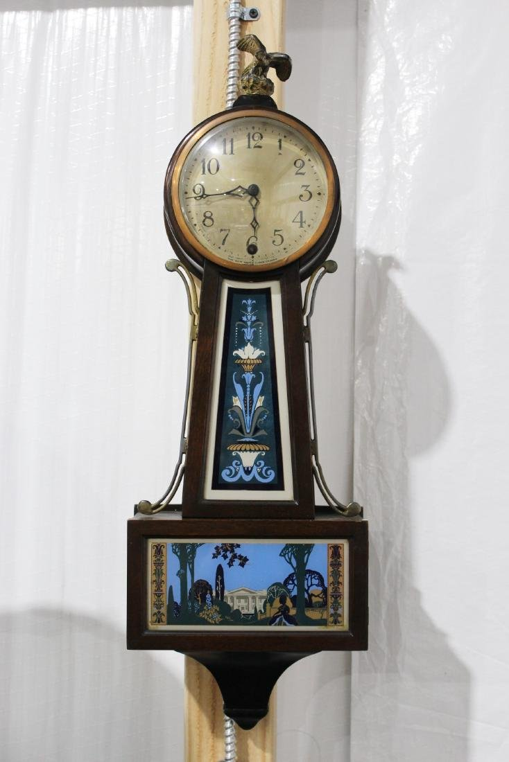Antique New Haven Winsome Model Time Only Clock