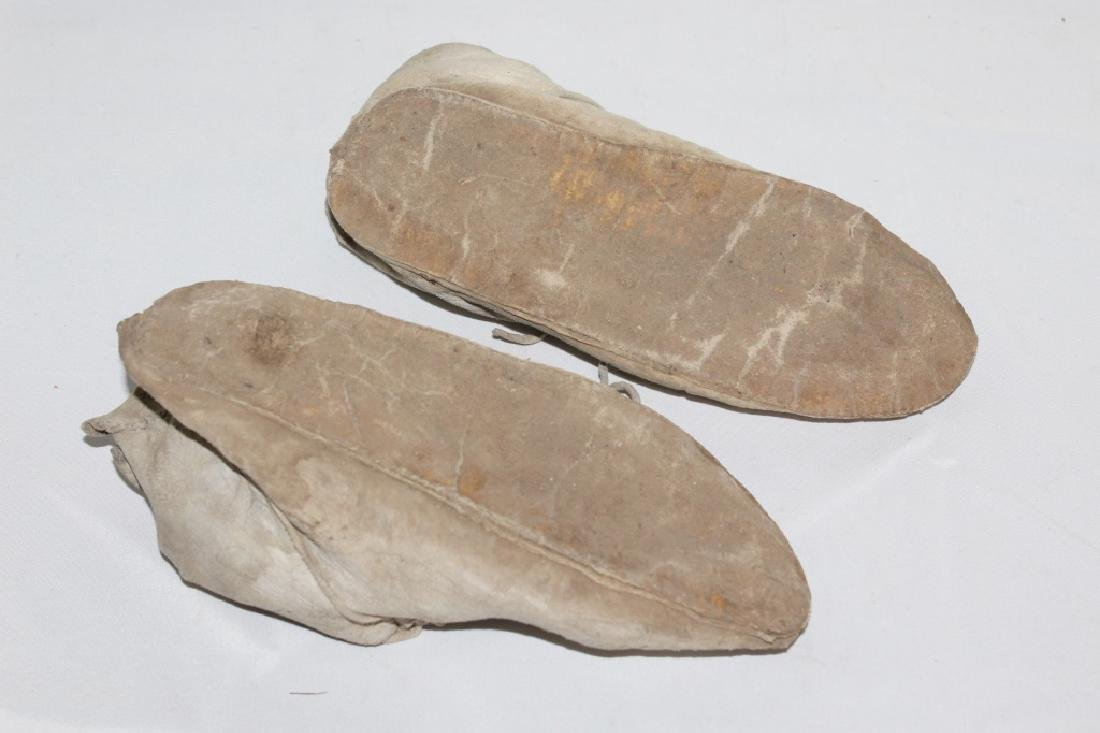 Early Taos Pueblo Mexico - Leather Moccasins - 2
