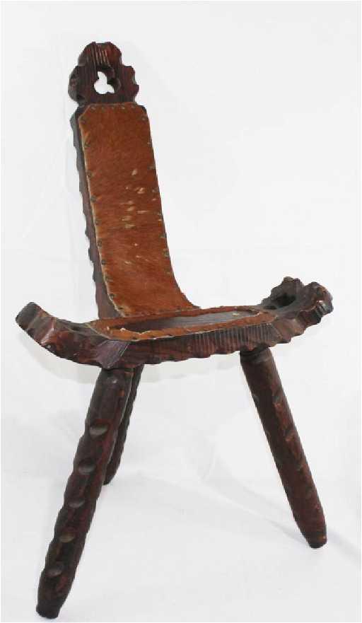 - Antique Spanish Birthing Chair