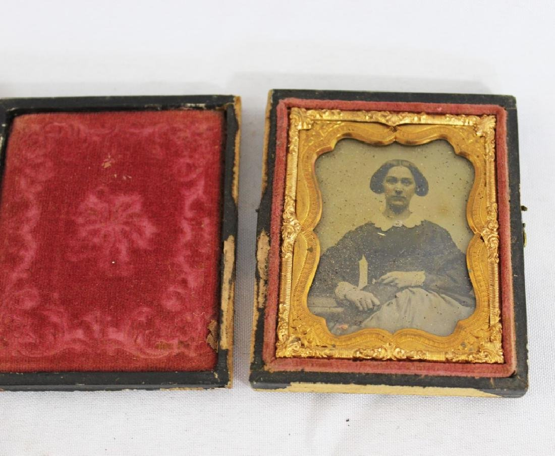Lot of 6 Antique Tintypes - 2