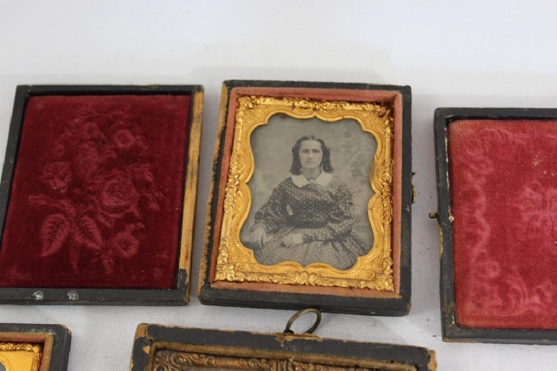 Lot of 6 Antique Tintypes - 3