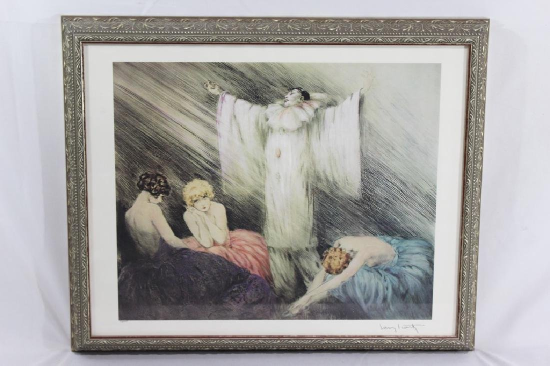 Louis Icart- Numbered in Lower Left - Clown with