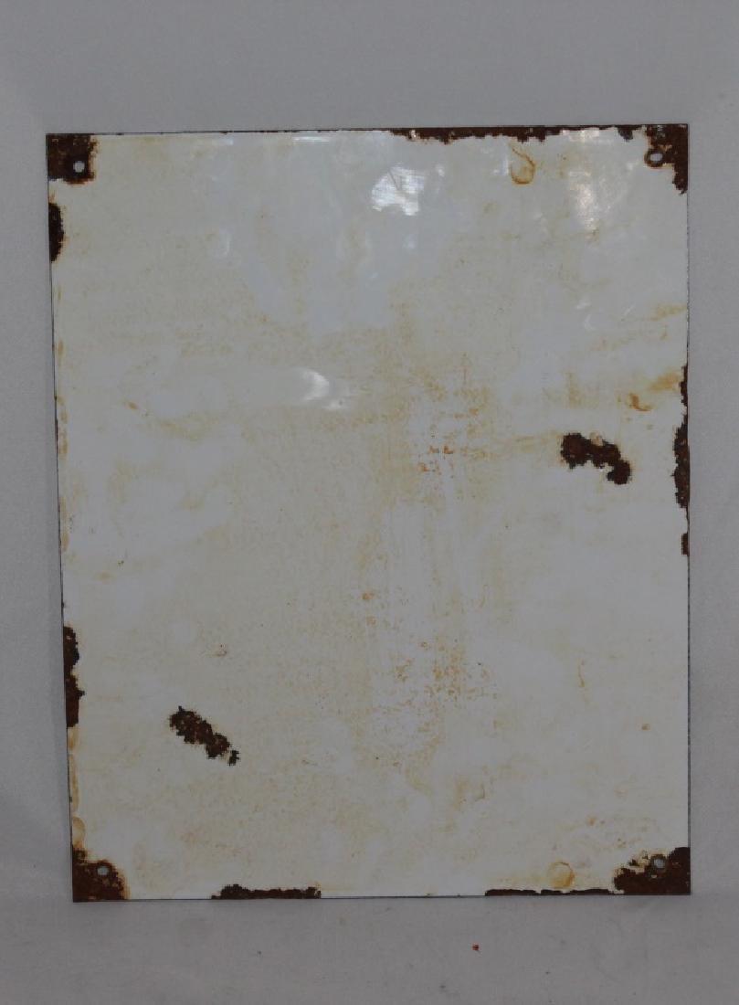 Gargoyle Mobiloil Porcelain Sign - 2